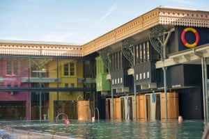 The Grade II listed baths were renovated by the team behind the Lido in Bristol in a £3.5m, four-year project, creating an outdoor pool, spa restaurant, bar and event space.