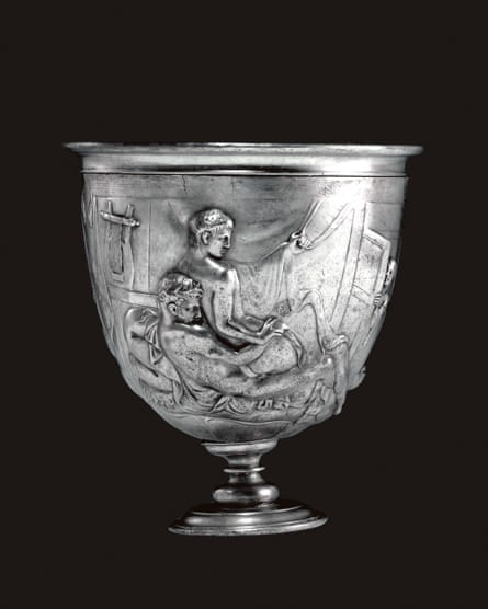 The Warren Cup, AD 5-15, featured in Neil MacGregor's A History of the World in 100 Objects.