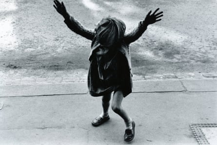 'Unforgettable': Girl About to do a Handstand (1957) looks, in silhouette, like 'a human bird'.
