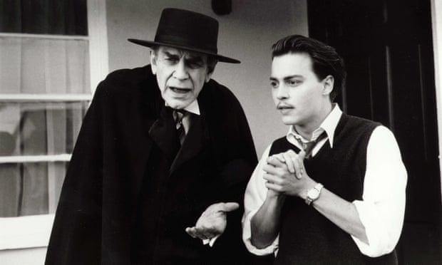 martin landau and johnny depp