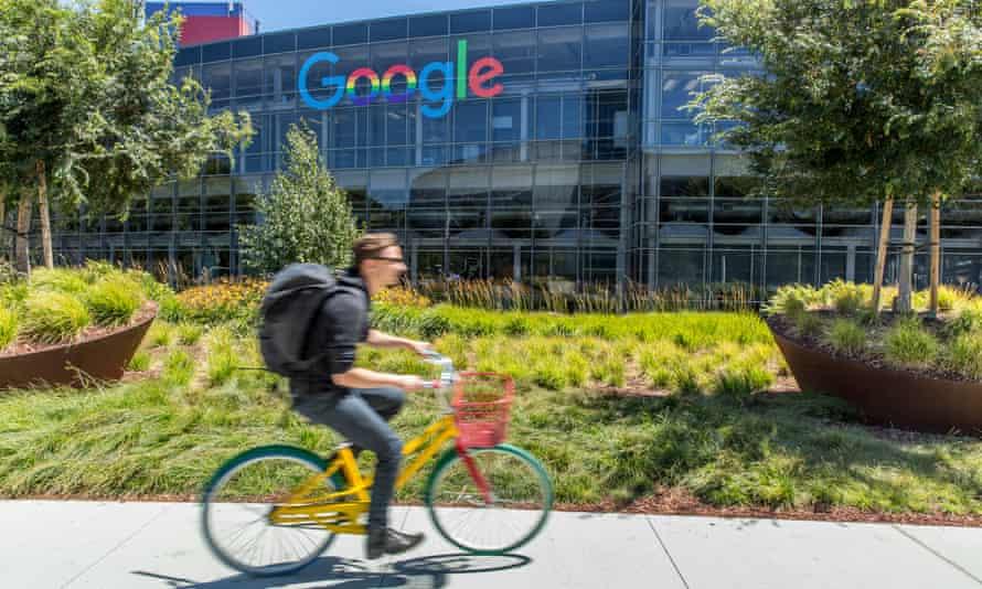 Google's HQ in Mountain View, California.