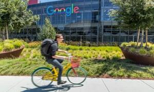 Google's HQ, Mountain View, California.