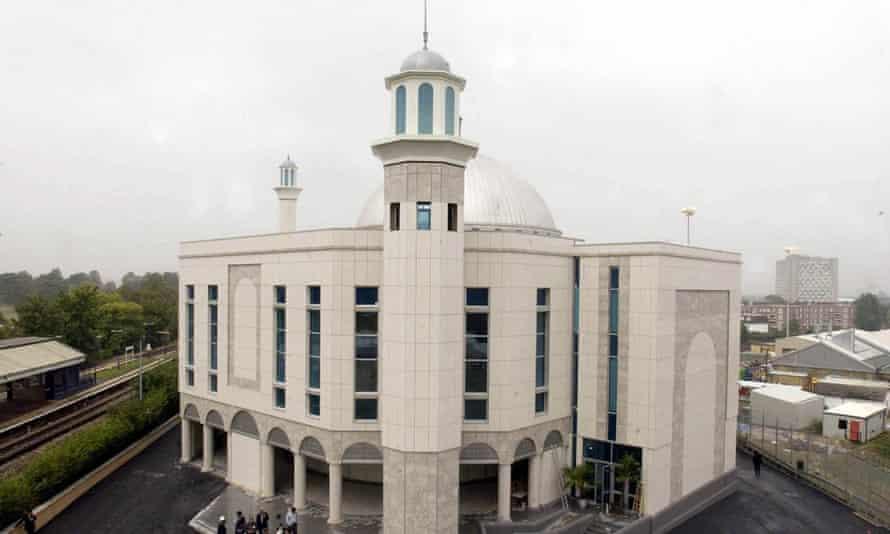Baitul Futuh Mosque in Morden, which it is believed Bishop was intending to target, in 2003.
