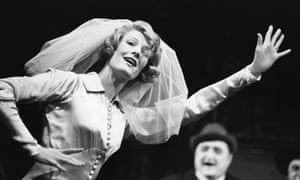 Vanessa Redgrave as Polly Peachum in The Threepenny Opera.