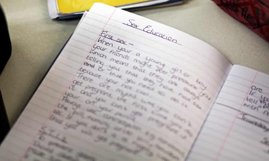 A PSHE lesson at a school in Oldham