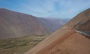 Pan American Highway (Route 5) in the Atacama Desert.