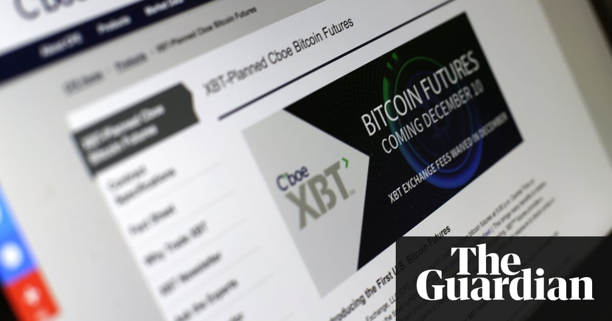 Traders brace for bitcoin futures launch after wild week for traders brace for bitcoin futures launch after wild week for currency technology the guardian ccuart Choice Image