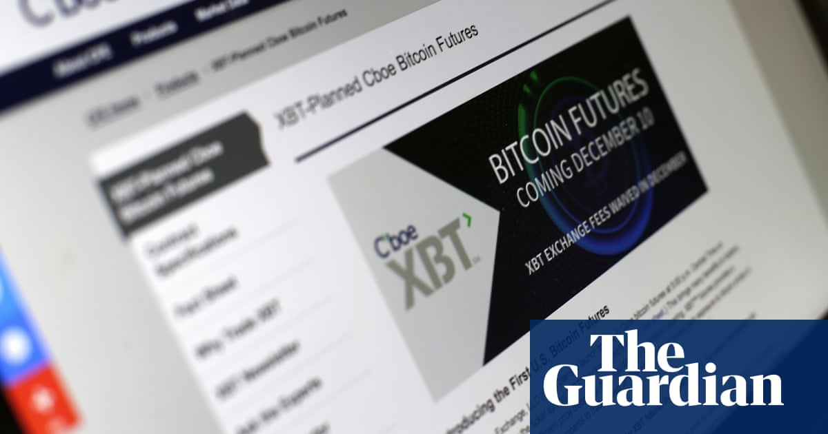Traders brace for bitcoin futures launch after wild week for traders brace for bitcoin futures launch after wild week for currency technology the guardian ccuart Images