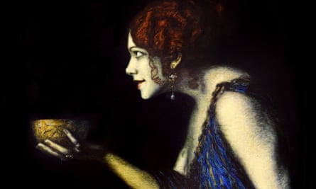 Franz von Stuck's Tilla Durieux Depicting Circe (1913). Photograph: Alamy