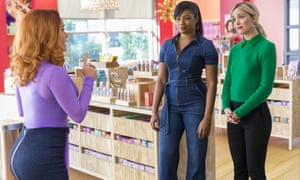 Salma Hayek, Tiffany Haddish and Rose Byrne in Like a Boss.