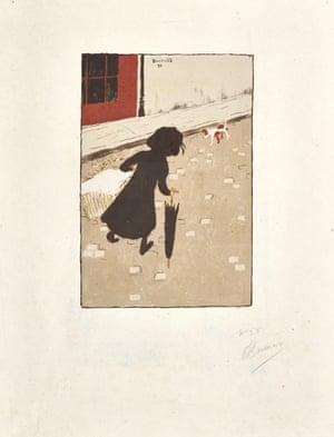 Pierre Bonnard's La Petite Blanchisseuse