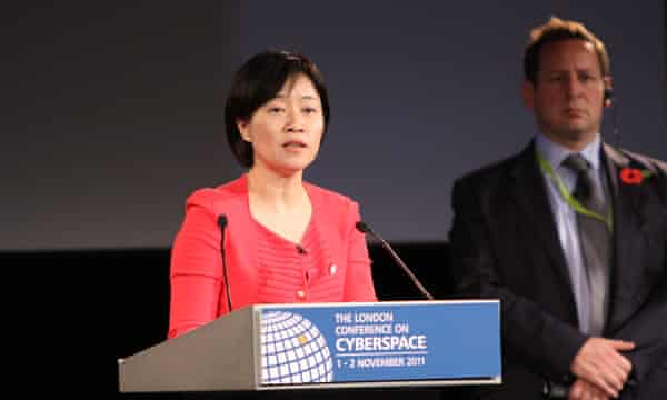 Member of the board of Huawei, Chen Lifang.