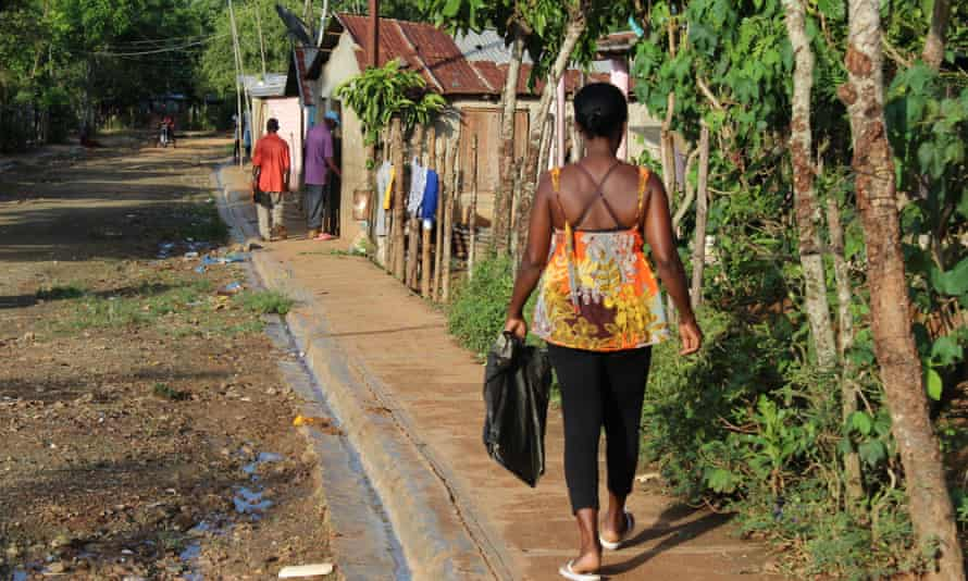 Guanuma, an urban area in the northern outskirts of Santo Domingo, is home to a large community of stateless Dominicans of Haitian descent.