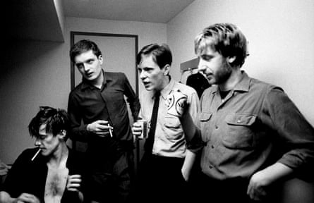 Joy Division at the YMCA in London in August 1979.