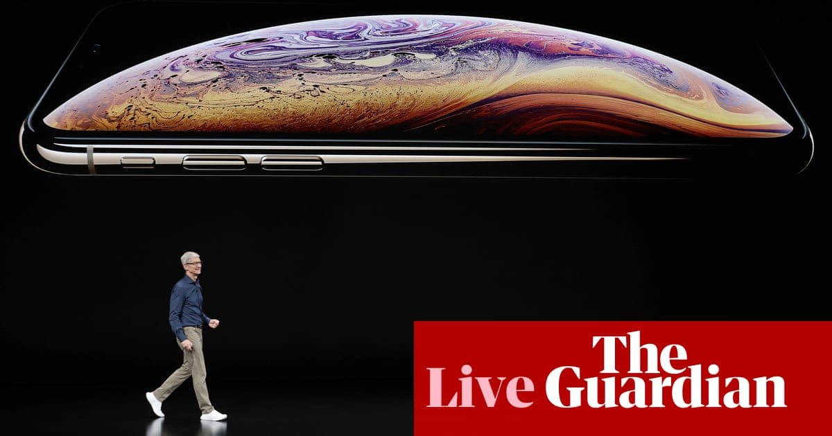 Apple launches iPhone XS, XS Max and XR – as it happened