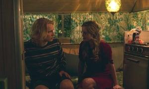 Kayla Cromer (Matilda) et Timothy Brundidge (Zane) dans Tout va bien.