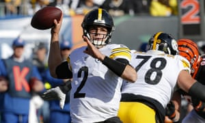 Mason Rudolph has had a difficult few weeks for the Steelers