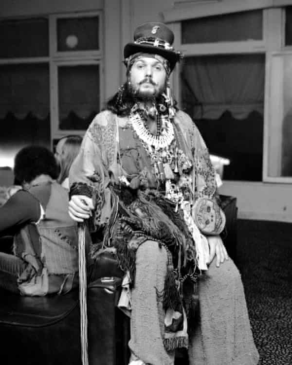 Dr John in 1970, the year of his third album, Remedies, which began to make him influential friends, including Eric Clapton and Mick Jagger.