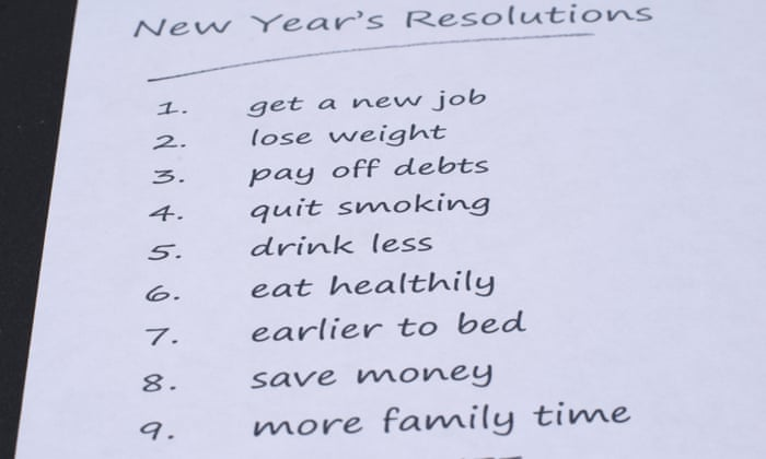 Struggling with New Year's resolutions? We can help | Life