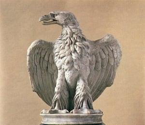 Roman eagle, first century AD.