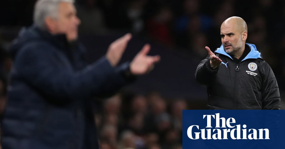 Pep Guardiola renews José Mourinho feud over Sterlings England withdrawal