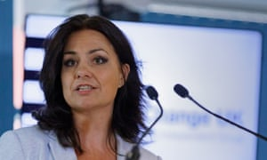 Heidi Allen, the Change UK interim leader