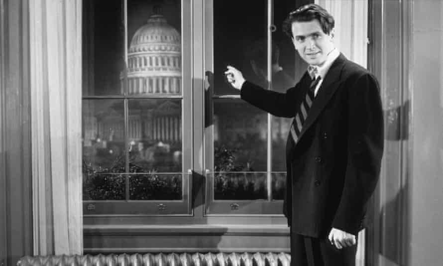 James Stewart in the 1939 film Mr Smith Goes to Washington, which presented an idealistic vision of US democracy.