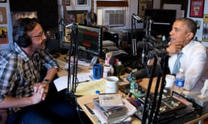 Marc Maron and Barack Obama on WTF