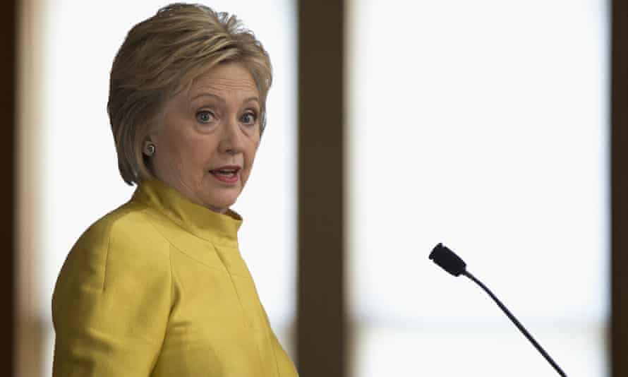 Hillary Clinton's speech came just a day after Donald Trump and Ted Cruz called for a crackdown on Muslims in the wake of a terrorist attacks in Belgium.