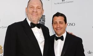 Harvey Weinstein with David Glasser in 2016