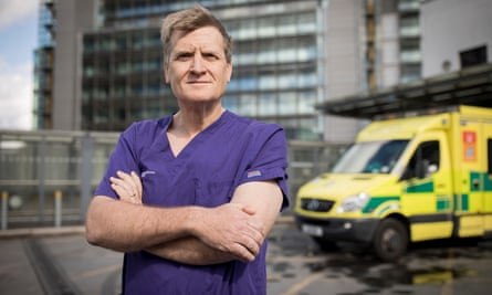 Professor Julian Redhead, medical director at Imperial College Healthcare NHS Trust and consultant in emergency medicine at St Mary's Hospital in Paddington, west London