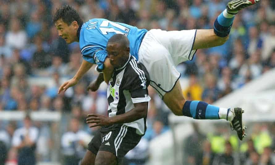 Manchester City's Sun Jihai