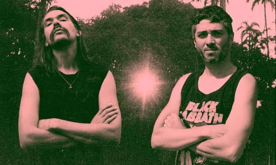'Salsapunk' pioneers … Paulo Olarte and Sebastián Hoyos, AKA Contento