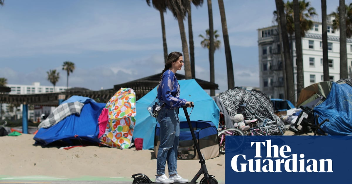 California governor unveils $12bn plan to tackle 'unacceptable' homelessness crisis