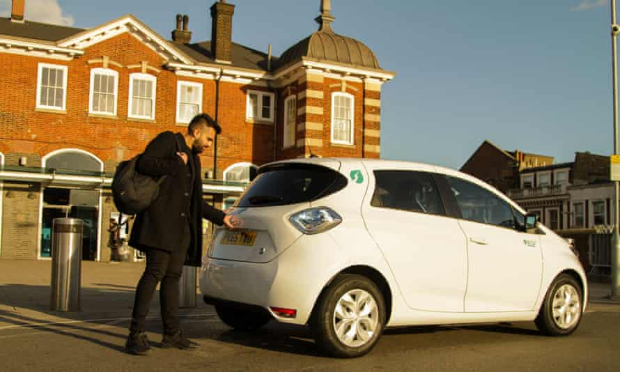 E-Car electric vehicle