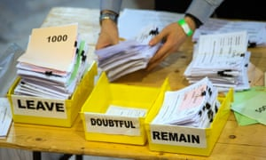 Thousands of fake accounts may have been used to influence the Brexit vote.