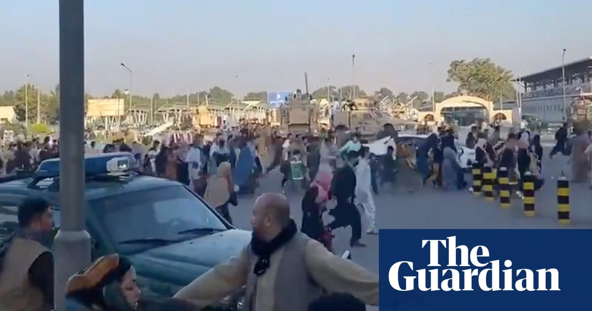 Monday briefing: Chaos as crowds flee Kabul