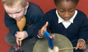 All primary school children should have the right to learn an instrument – free.