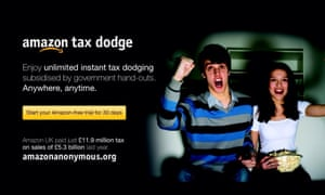 Amazon Anonymous crowdfunded van spoof advert