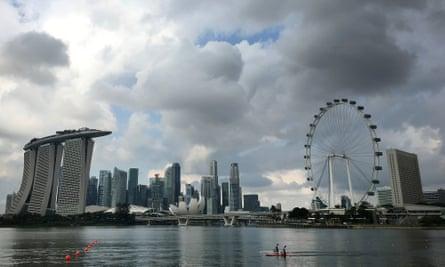 Singapore's Marina Bay area