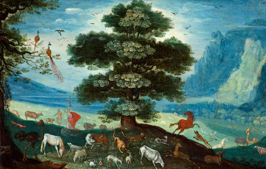 Jan Brueghel the Younger's Adam Naming the Animals.