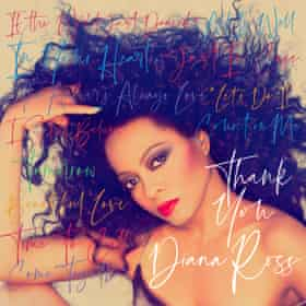 The cover of Thank You, Diana Ross's 25th album.