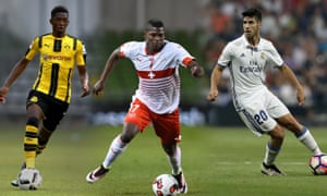 Ousmane Dembélé, Breel Embolo and Marco Asensio are all set to make a step up from club to country.