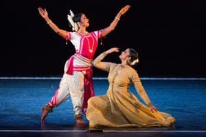 Sujata Mohapatra, left, and Gauri Diwakar