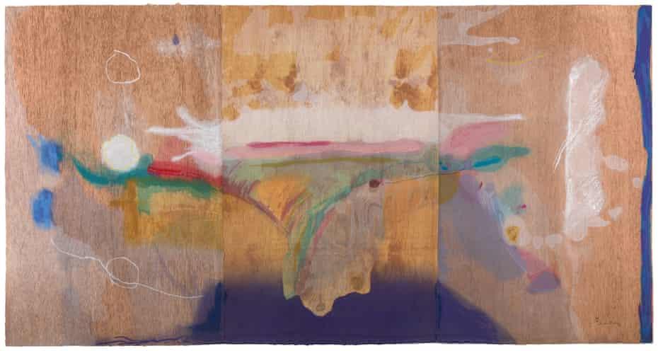 Madame Butterfly by Helen Frankenthaler, 2000.