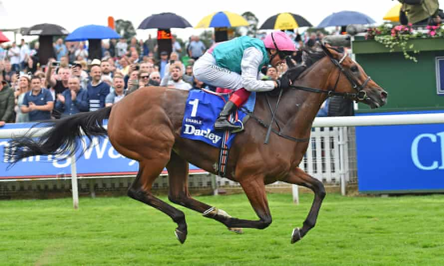 Enable was victorious in her last race on British soil