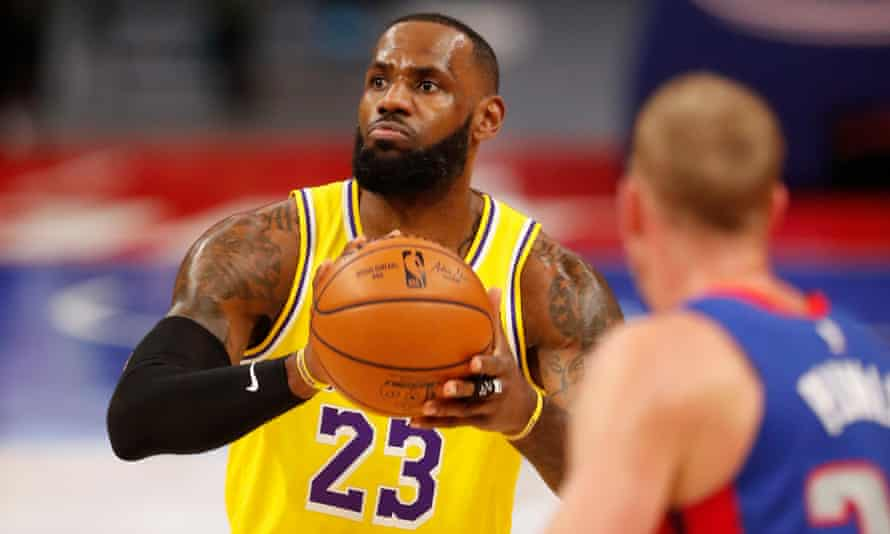 LeBron James took his confrontation with a fan in his stride