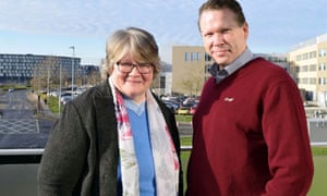 Tory candidate Karl McCartney welcomed the minister for Work and Pensions Thérèse Coffey to Lincoln