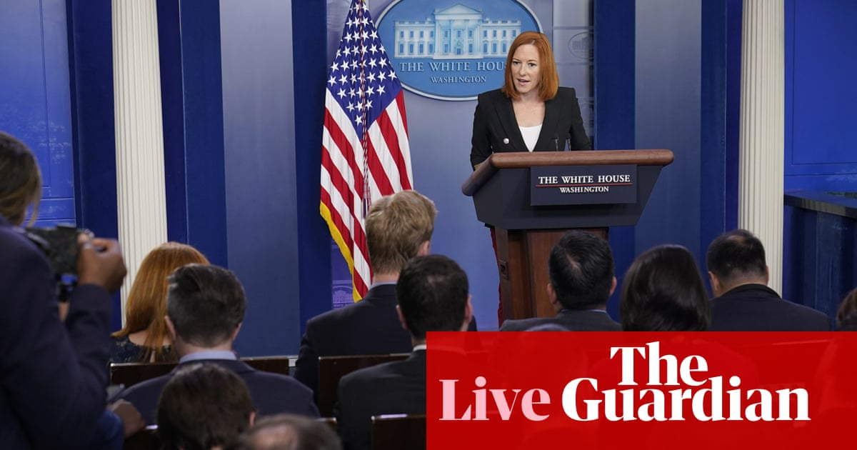 White House and Congress hit with breakthrough Covid infections – US politics live