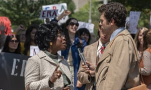 'I wanted to get her humanity' … Aduba as Chisholm in Mrs America.